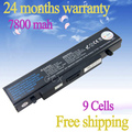 JIGU Hot NEW 9 CELL Laptop battery for SAMSUNG NP-R519 R530 R522 R519 AA-PB9NC6B R520 R470 R428 Q320 R478 BATTERY, Black