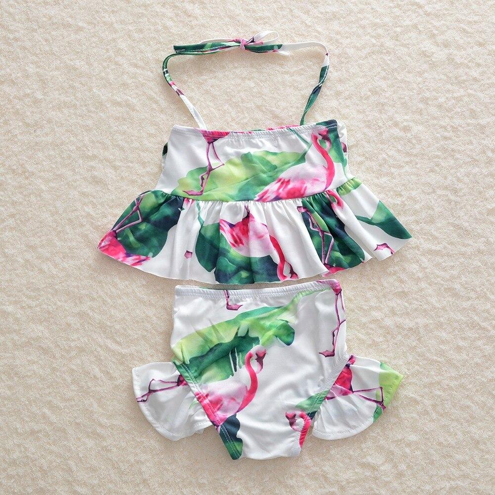 Новинка года; детский купальный костюм для маленьких девочек; комплект бикини из двух предметов с героями мультфильмов; купальный костюм принцессы для девочек; 5 шт/лот