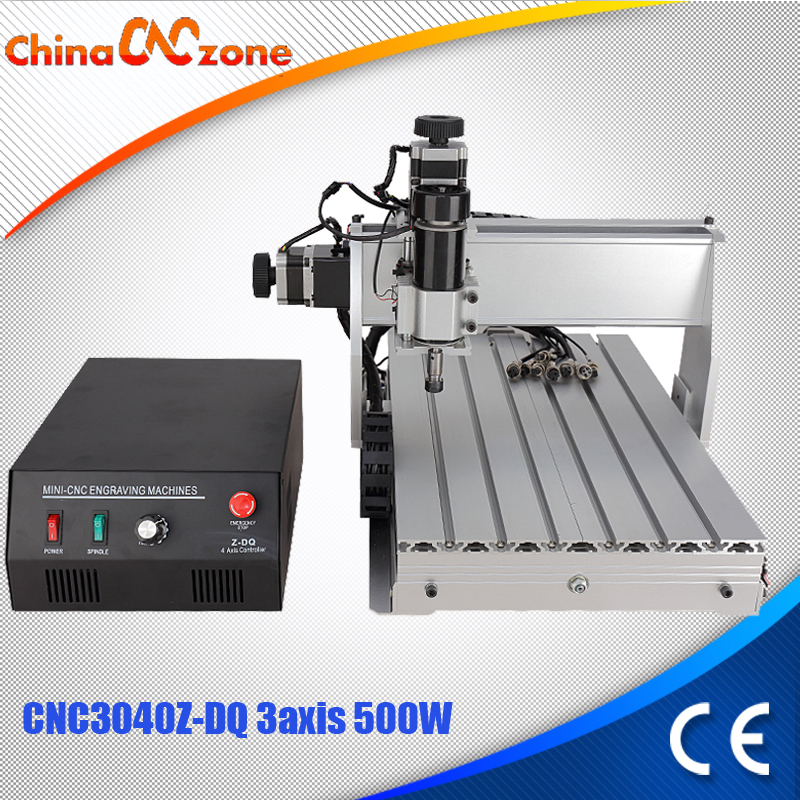 CNC 3040 Z-DQ 3-axis CNC Router Engraver Ball Screw Cutting Milling Drilling Engraving Machine Mini CNC 3040 500W Manufacturer free tax desktop cnc wood router 3040 engraving drilling and milling machine