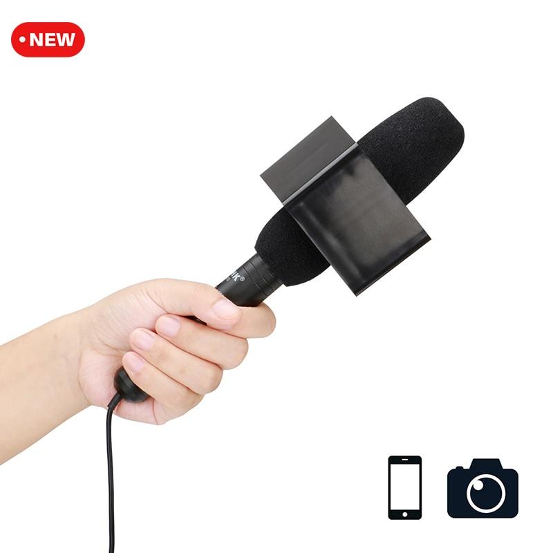 Ulanzi Professional Handheld Shotgun Interview Microphone Video Mic For iPhone Smartphone Android DSLR Camera DV Nikon Canon DV