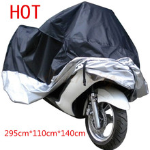 Big Size Motorcycle Cover XXXXL Waterproof Outdoor UV Protector Bike Rain Dustproof Covers for Motorcycle Motor