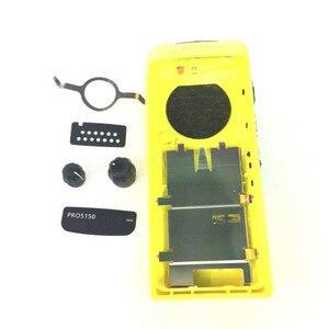 Image 5 - GP328 konut kılıf ön kapak kabuk yüzey toz kapağı + topuzu Motorola iki yönlü radyo için GP328 GP5150 GP340 DIY Walkie Talkie