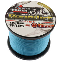 Hot Sale Supper Strong 1000M Braided Wires 100 Pe Fiber Fishing Line Spectra Blue 4 Strands