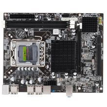 X58 PC Computer Desktop Motherboard LGA1366 CPU Interface DDR3 MSATA V1.6 Mainboard Systemboard For Intel Xeon Core i7 A55 A58(China)