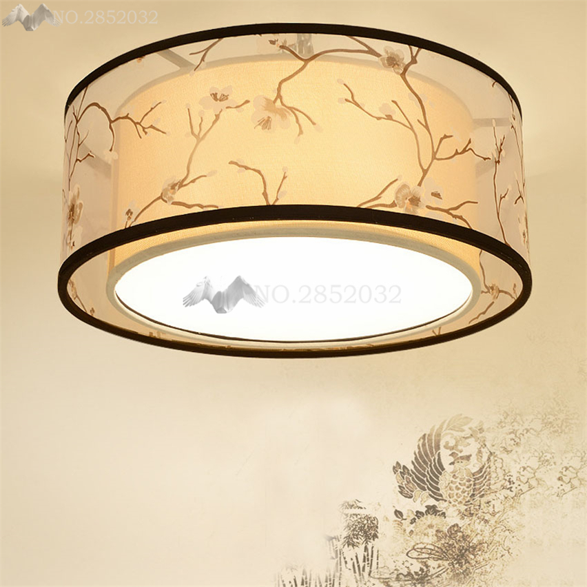 Ceiling Lights Dependable Jw_cloth Led Ceiling Light Atmosphere Fabric&iron Lampshade Modern Living Bed Room Ceiling Lamp Nordic Bedroom Lighting Fixture Structural Disabilities