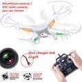 Quadcopter drone syma x5c-1 câmera câmera x5c drone drone quadcopter 2.4g 4ch 6 eixo rc quadcopter controle remoto freeshipping