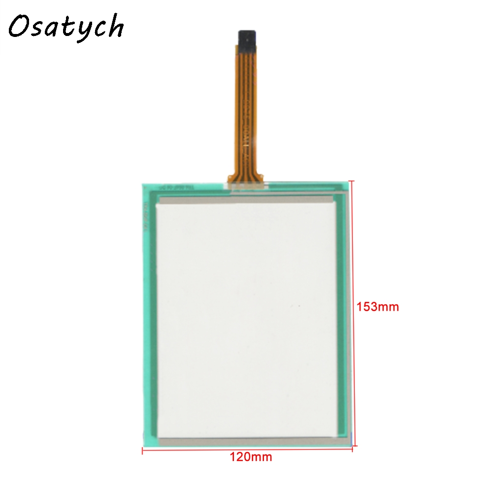 New 6.4 Inch 4Wire Resistive Touch Screen Panel for TR4-064F-04 153mm*120mm Touch Panel Glass new 3 5 inch 4wire resistive touch panel digitizer screen for texet tn 300 gps free shipping