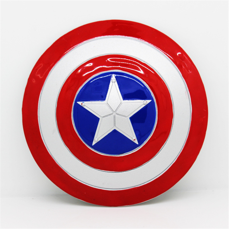 Captain America cosplay Avengers United States Captain Halloween Metal Shield Children Toys Gift Men and women Applicable in Costume Props from Novelty Special Use