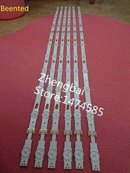(New kit)12 PCS/set LED backlight strip for LM41-00334A LM41-00335A UE49KU6300 UN49KU650DF S_KU6.3K_49_FL30_L7 R5