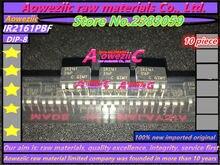 Aoweziic 100% yeni orijinal IR2161 IR2161PBF DIP 8/IR2161S IR2161STRPBF SOP 8 sürücü çip