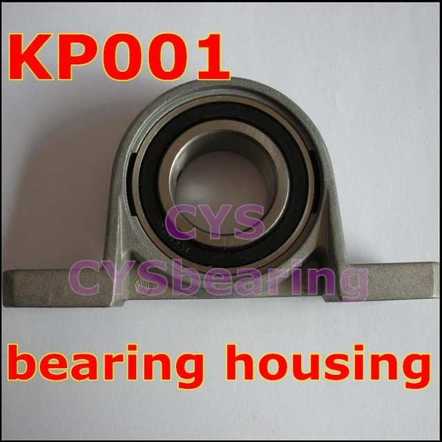 12mm shaft  Zinc Alloy mounted bearings KP001  pillow block bearing housing