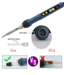Image 4 - 2019 nuovo CXG 110V/220V EU/US D60W/D90W con il sonno funzione di saldatura del ferro lcd la tecnologia digitale con nuovo riscaldatore