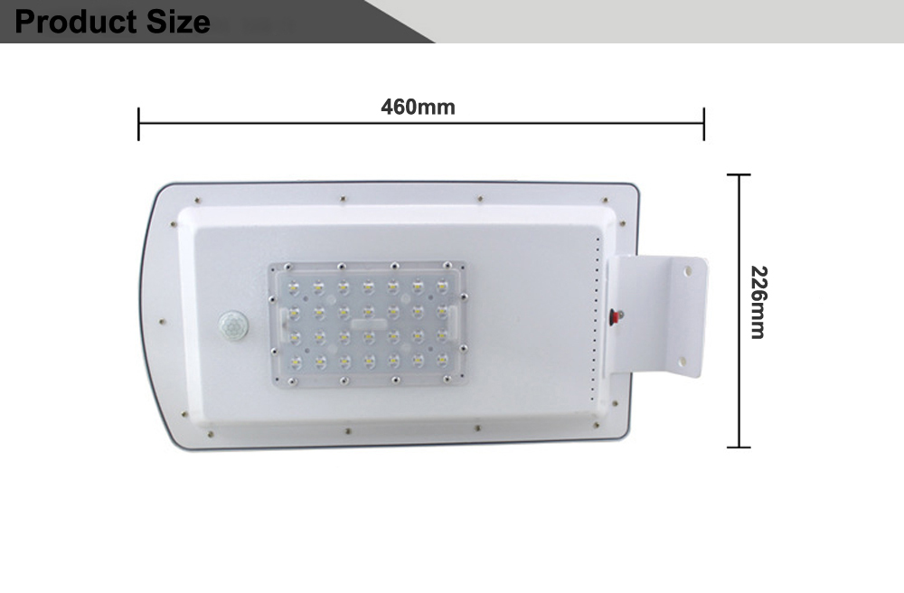 GO OCEAN Solar Lamps LED Solar Waterproof Wall Integrated LED Street Light Solar Lamp Motion Sensor Outdoor Garden Light (16)