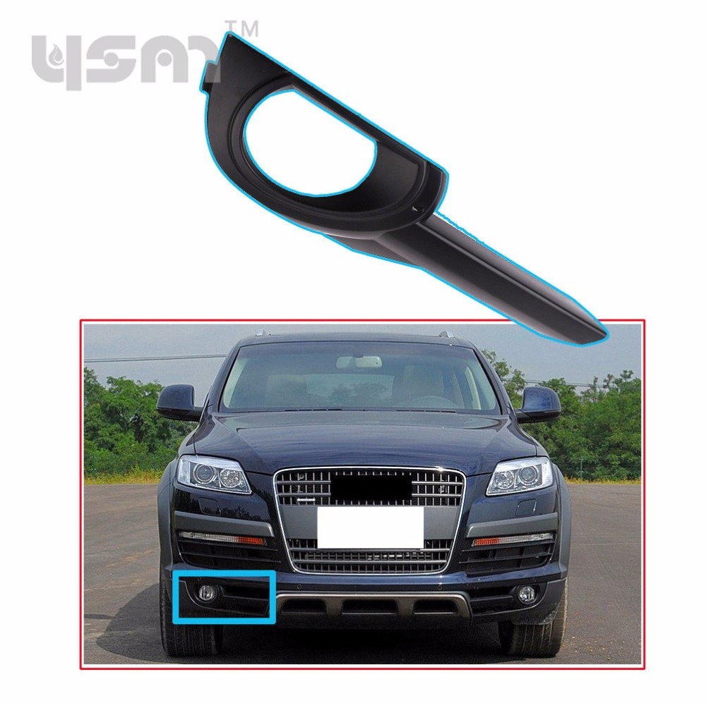 New Front Right Fog Lights Lamp Cover Trim Grill 4L0071302 For Audi Q7 2007 2008 2009 4L0 071 302