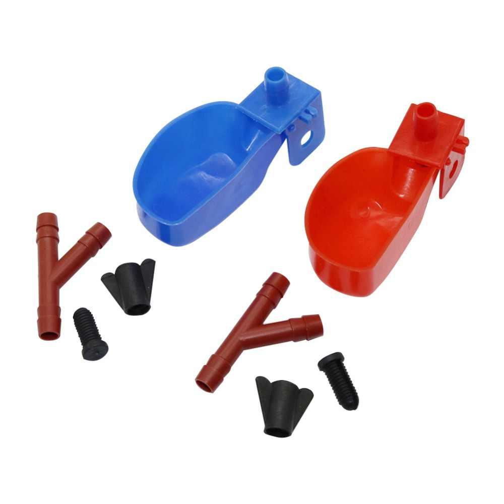 70 шт. Оптовая перепелиные инструменты Waterer питьевые системы курица оборудования птица инструменты чашечек для кормления