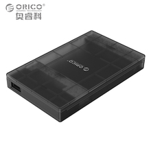 ORICO 2.5 Inch HDD Enclosure Sata 3.0 to TYPE-C Tool Free External Storage HDD Case for 7/9.5mm HDD and SSD 2TB Support
