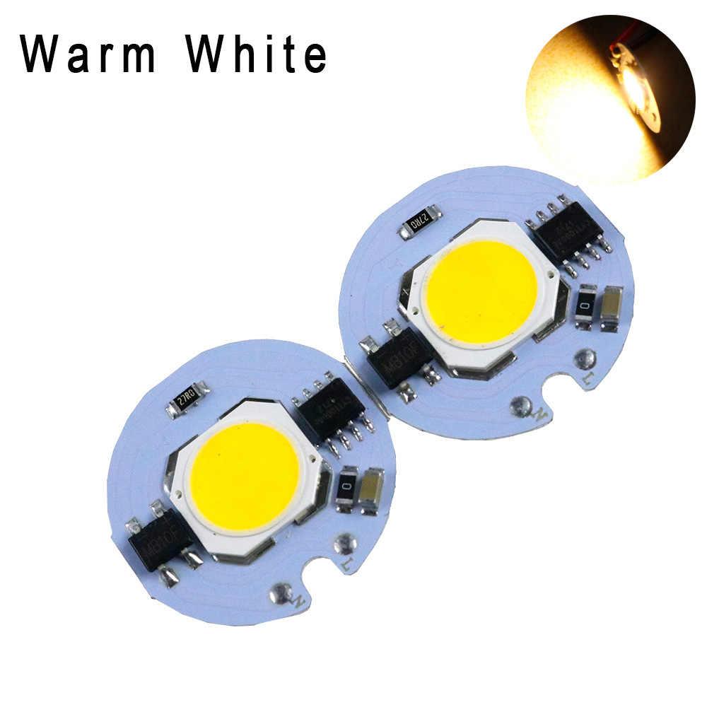 스마트 ic 드라이버 cob led 콩 칩 led 광원 diy 램프에 대 한 야외 투광 조명 스포트 라이트 220 v 110 v 3 w/5 w/7 w/9 w jq