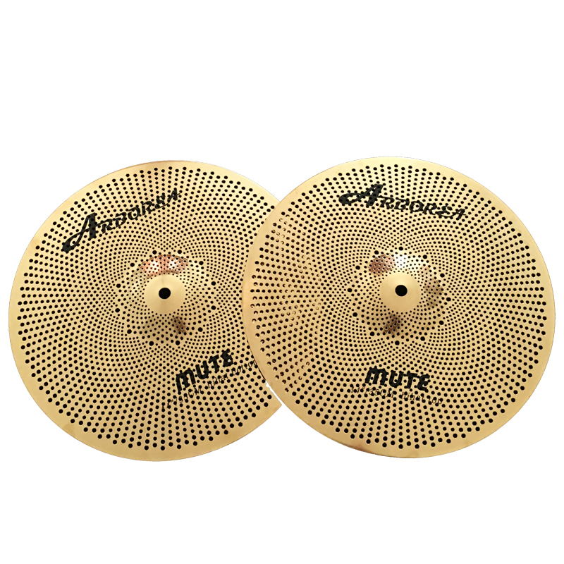 "Arborea Golden Mute 14"" Hihat Cymbal For Sale"