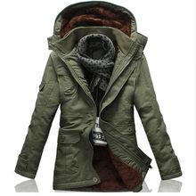 2018 stil winter schwere parkas männer jacke mantel top warme lange mit  kapuze casual warmen schnee 3ad03f7137
