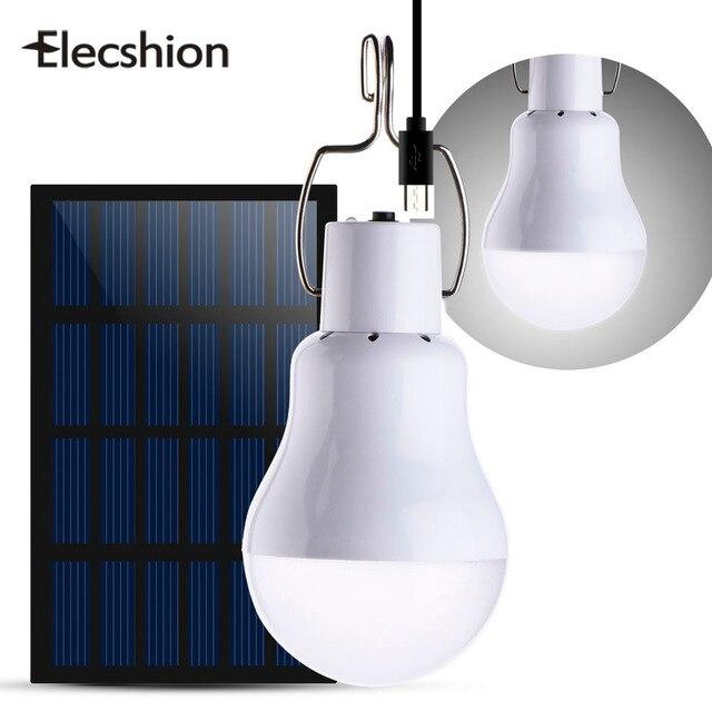 Elecshion Extérieure Led Éclairage Solaire Rue Lampe Jardin ...
