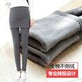 Legging ropa embarazo ropa de maternidad embarazadas Pantalones Calientes del invierno barato de las mujeres-ropa de maternidad de terciopelo premama