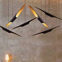 Luces colgantes LED modernas lámparas suspendidas de sala de estar luminarias de suspensión nórdica accesorios de loft iluminación colgante de restaurante
