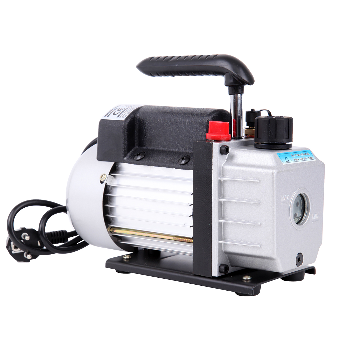 2.5CFM 1/4HP Single Stage Vacuum Pump Air Conditioning Refrigeration Vacuum Pump