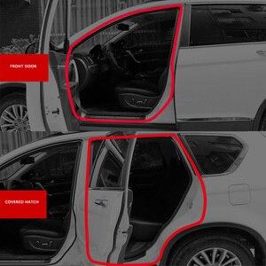 Image 5 - Araba Styling kapı contası gezileri gövde ses yalıtımı su geçirmez sızdırmazlık araba Styling etiketler evrensel otomobil İç aksesuar