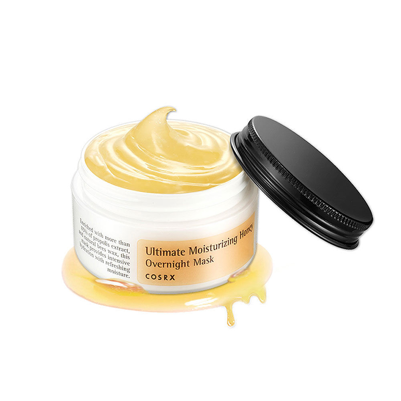 Cosrx Ultimate Moisturizing Honey Overnight Mask 50g Face Skin Treatment Nourish Honey Moisturizing Mask Oil Control