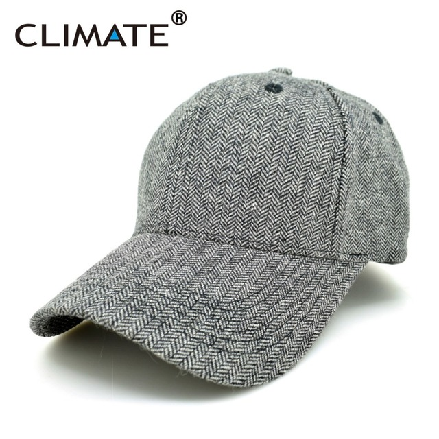 CLIMATE Men Women Baseball Caps No Logo Brushed Caps Blank Heavy Thick  Massy Warm Cap Sports Casual Warm Adjustable Hat 3d75ebf5113
