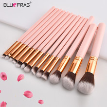 2018 Pink Cosmetic Makeup Brushes Set Blush Powder Foundation Eyeshadow Eyeliner Lip Make Up Brush Kit Beauty Tools Maquiagem jessup buy 3 get 1 gift makeup brushes set foundation blush liquid kabuki eyeshadow eyeliner lip contour make up brush smudge