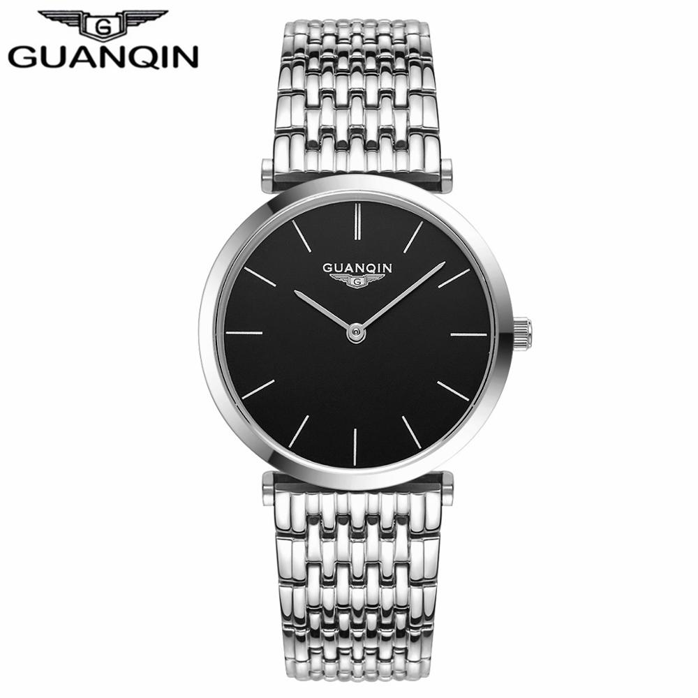 GUANQIN Women Watches 2017 Luxury Top Brand Watch Women Casual Fashion Gold Silver Steel Quartz Girl Watches relogio feminino (6)