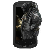AGM A8 4G IP68 Étanche Smartphone Android 7.0 5.0 pouce MSM8916 Quad Core 1.2 GHz 3 GB RAM 32 GB ROM 13.0MP 4050 mAh Batterie Téléphone