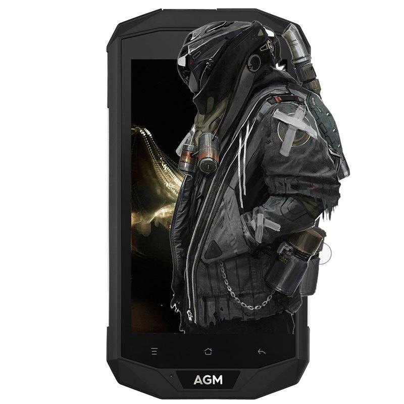AGM A8 4G IP68 Impermeabile Smartphone Android 7.0 5.0 pollice MSM8916 Quad Core 1.2 GHz 3 GB di RAM 32 GB ROM 13.0MP 4050 mAh Batteria Del Telefono