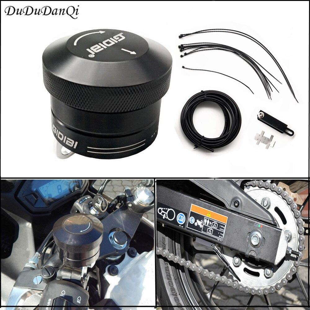 Motorcycle chain oiler/chain lubricator lubrication system For Suzuki V STROM DL 250 DL 650 DL 650XT DL 1000 All years