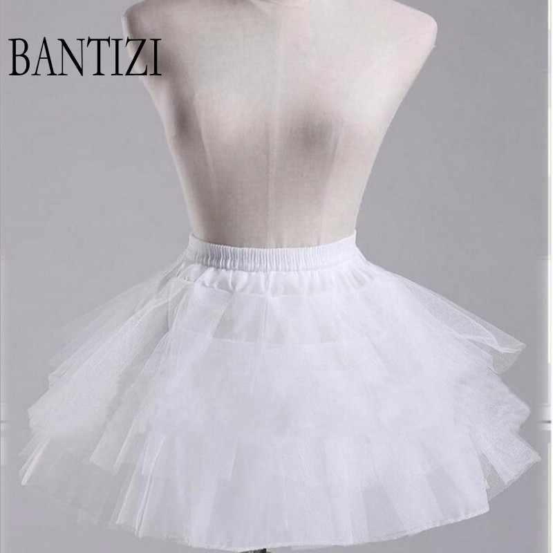 aa12982f9f5d White Petticoat Short Women Underskirt For Wedding Dress jupon cerceau  mariage