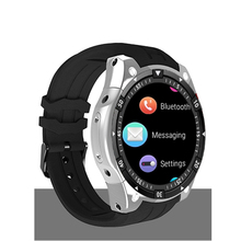 X100  Android 5.1 OS Wrist Smart watch MTK6580 1.3 AMOLED Display 3G SIM Card 696 hot sale x100 smart watch android 5 1 os smartwatch mtk6580 3g sim gps watchs pk q1 pro iwo kw18 relogio inteligente for ios