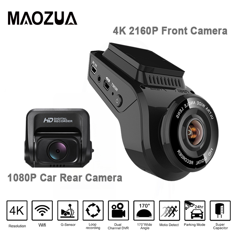 Newest Dash Cam Car DVR font b Camera b font 2 Inch 4K 2160P with 1080P