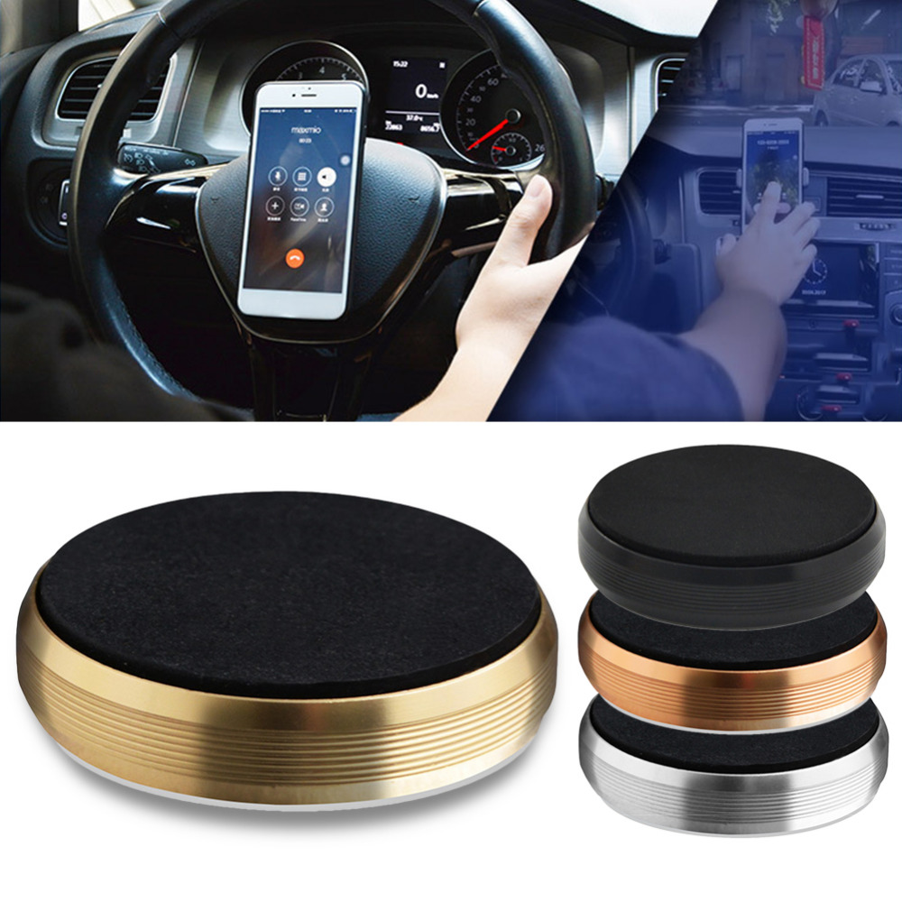 New Model Car Mobile Phone Holders & Stands Multi-functional Magnetic Absorption Style Universal Steering Wheel Phone Holder steering wheel phone holder
