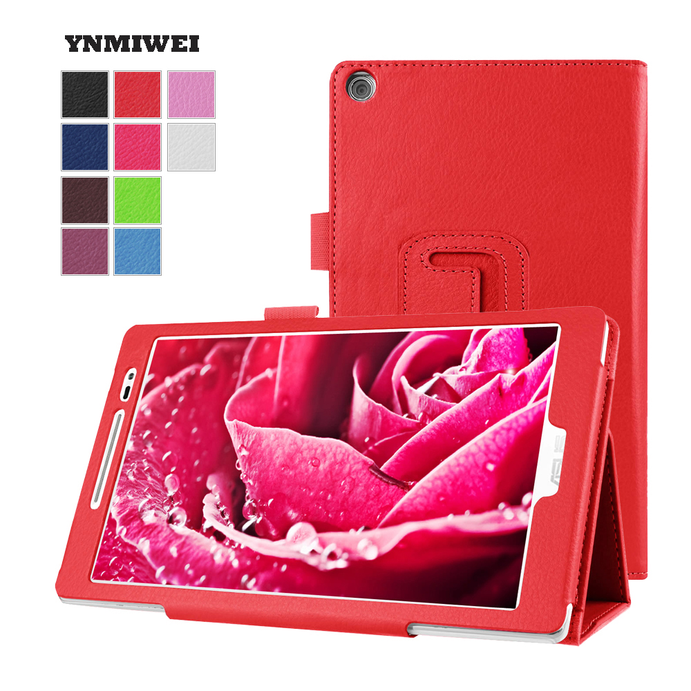 Tablet Cases For Asus Zenpad 8.0 Z380 Z380C Z380KL PU Leather Protective Tablet Cover Shell Zenpad 8.0 Inch Pad PU Skin