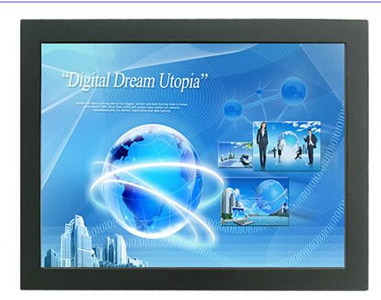 50 polegadas TFT LCD touch screen monitor de invólucro de metal Open frame touch monitor IR