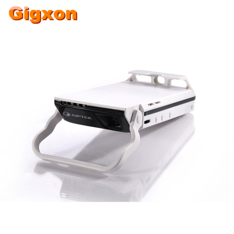 Free shipping new aiptek projector i60 pico portable for Best portable projector for iphone 6
