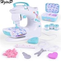 HziriP Children Sewing Machine Toy Pretend Play Simulation Safety Plastic Educational Children Puzzle Girls Toys Birthday Gifts