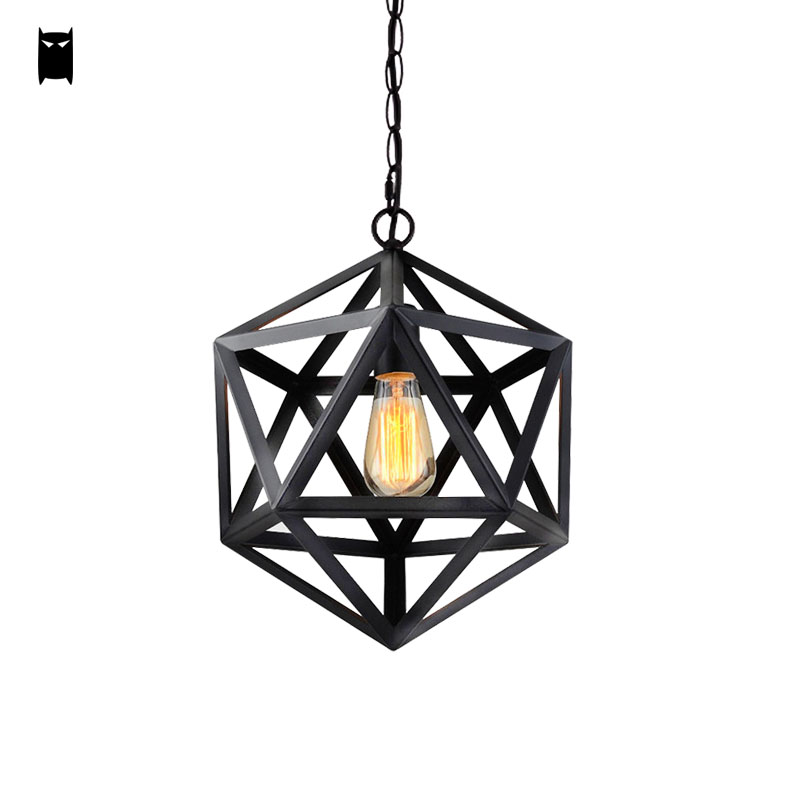 Vintage Black Wrought Iron Light Fixture: Aliexpress.com : Buy 35/45cm Black Wrought Iron Cage