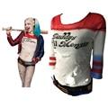 2016 Comando Suicida Batmen Película de Alta Calidad Harley Quinn Joker Camiseta Lil Monster Camiseta de Halloween Cosplay Disfraces de Papá