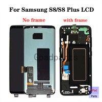 Оригинал AMOLED s8 плюс ЖК дисплей для Samsung Galaxy s8 ЖК дисплей Экран G950 Дисплей Touch планшета с рамкой сборки