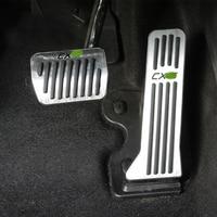 Aluminum Alloy Car Accelerator Gas Pedals Brake Pedal Cover AT For Mazda CX 5 CX5 CX