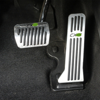 Aluminum Alloy Car Accelerator Gas Pedals Brake Pedal Cover AT For Mazda CX 5 CX5 CX