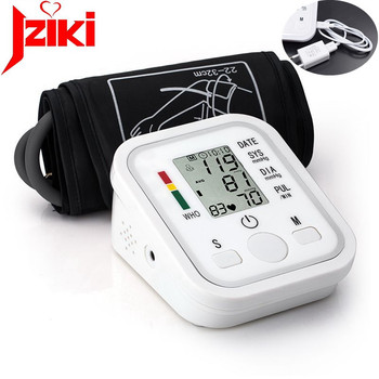 free shipping blood pressure monitor health care heart monitor arm blood pressure monitor sphygmomanometer nonvoice