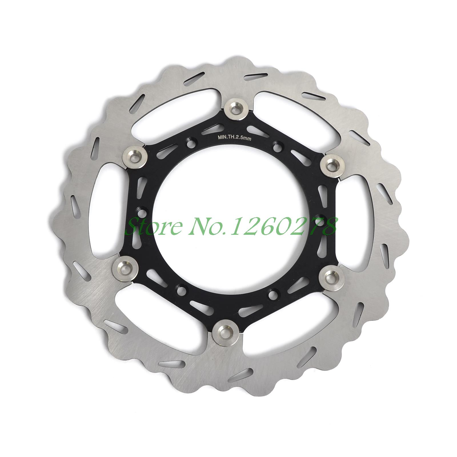 Motorcycle 270mm Oversize Front MX Brake Disc Rotor For Yamaha WR125 250 WR250F/400/426F WR450F Motorbike Front MX Brake Disc high quality 270mm oversize front mx brake disc rotor for yamaha yz125 yz250 yz250f yz450f motorbike front mx brake disc